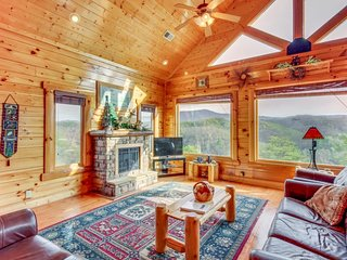 3 levels of majesty with a hot tub to the foosball table! - Sevierville vacation rentals