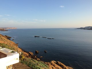 Amazing terrace on the sea in natural parc !! - Mercadal vacation rentals