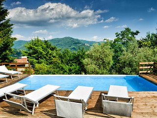 Spacious villa with beautifull view an private pool in a huge garden - San Quirico vacation rentals