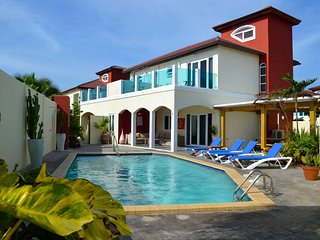 The Best 10 persons Villa at Palm Beach Aruba - Palm/Eagle Beach vacation rentals