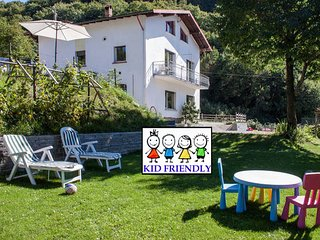 13beds-TheBestPlace to visit ComoLake-garden-kid friendly - Barni vacation rentals