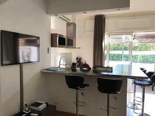 Mini villa T2 de 45m2 3 étoiles 3 clés à 200M de la plage et 10min de Bastia - Borgo vacation rentals