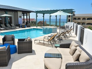Gulf view condo in Waterhouse building, steps from beach, rooftop pool and hot tub - The Lookout at Waterhouse - Seacrest Beach vacation rentals