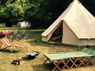 Oak Lodge Glampsite - Tent 3, 6m Bell - Northwold vacation rentals