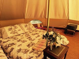 Oak Lodge Glampsite - Tent 4, 6m Bell - Northwold vacation rentals