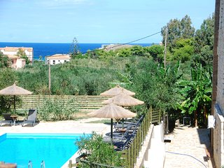 """ALEGRIA VILLAS"" Maisonettes with Sh.S.Pool by the Beach & Sea View - Vasilikos vacation rentals"