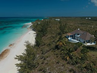 Newly Renovated Beachfront Estate, 11 Private Acres On Secluded Pink Sand Beach - Governor's Harbour vacation rentals