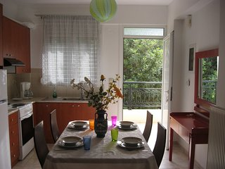 Nice 4-Bedroom Family Apartment only 5 min to the beach - Stalis  vacation rentals
