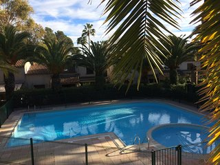 Les-Hauts-du-Val. Studio in a residence with swimming pool. Cagnes-sur-Mer. - Cagnes-sur-Mer vacation rentals