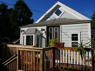 Cozy Zen house by the beach with queen bed and loft with full bed for 2 - Revere vacation rentals
