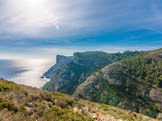 "Apartment a short walk away (230 m) from the ""Playa Llebeig"" in El Poble Nou de - Benitachell vacation rentals"