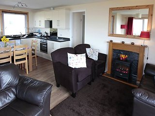 Birch - Modern chalet over-looking the bay to Old Dornie Harbour, Summer Isles and Minch. - Achiltibuie vacation rentals