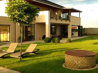 Elegant villa  20 min from Prague, with swimming pool and tennis court - Průhonice vacation rentals