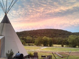 Amazing Tipis! Reservation On The Guadalupe, Heated/AC, Insulated TIpis! - New Braunfels vacation rentals