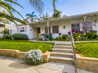 La Jolla Cottage - A/C, free WIFI, private patio and walk to shops and beach - Elvira vacation rentals