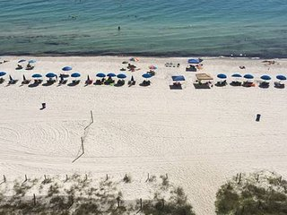 Gulf front 3 bedroom 3 bath sleeps 10 All bedrooms have gulf views - Panama City Beach vacation rentals
