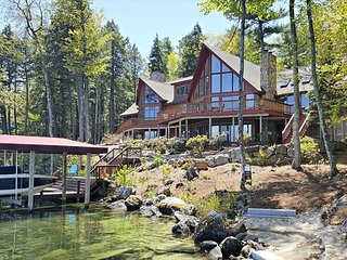 Outstanding Waterfront Luxury Home in Alton Bay (SMI15Wf) - Alton vacation rentals