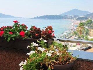 Luxury penthouse with shared pool in the heart of Rafailovici - Rafailovici vacation rentals