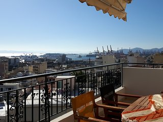 Bright & comfy flat with sea and city view - Piraeus vacation rentals