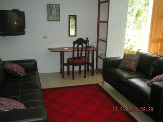 Beautiful One BR, Plus, Overlooking River, Near to Everything:  Town, Beach, Mtn - San Isidro de El General vacation rentals