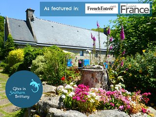 Le Crann hamlet - Two 16 C cottages perfect for large groups - Pool, Bikes, View - Quistinic vacation rentals