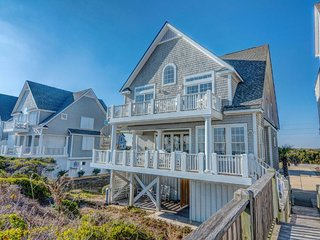 Island Drive 4366 Oceanfront! | Internet, Community Pool, Hot Tub, Jacuzzi - North Topsail Beach vacation rentals