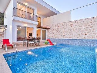 Holiday Villa With Private Swimming pool in Kaş Balayivilla com villa önay 2 - Kas vacation rentals