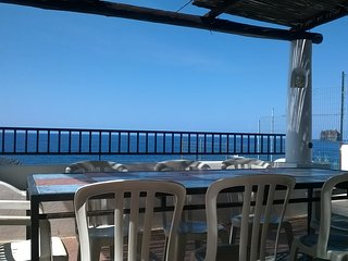 Princo double room front beach spectacular view - Stromboli vacation rentals