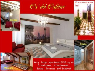 Ca' del Cafetier: a haven for family reunions - Venice vacation rentals