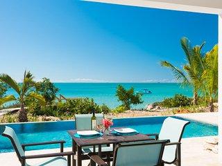 Miami Vice One ocean front brand new villa - Sapodilla Bay vacation rentals