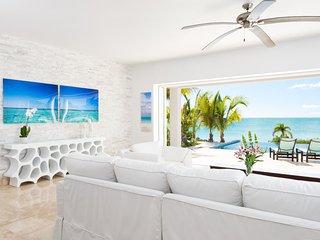 Miami Vice Two ocean front brand new villa - Sapodilla Bay vacation rentals