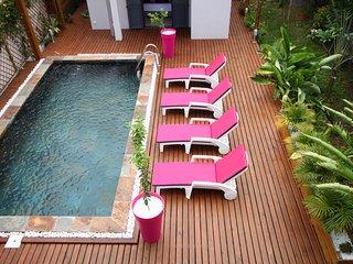 Villa en centre ville avec piscine privée à 400 de la plage - Saint-Pierre De La Reunion vacation rentals