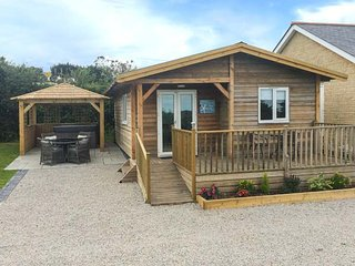 HEBASK, detached lodge, pet-friendly, hot tub, good touring, in St Day, Ref 953029 - Redruth vacation rentals