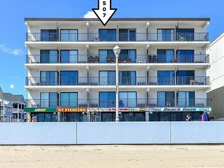 Prime Location...12th & Boardwalk...Direct Ocean Front with Amazing Views! - Ocean City vacation rentals