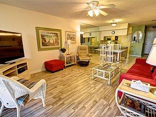 Hibiscus Resort - D203, Ocean View, 2BR/2BTH, 3 Pools, Wifi - Saint Augustine vacation rentals