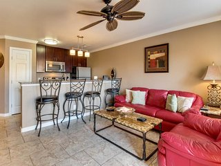 Gulf-front and dog-friendly condo, w/shared pool, hot tub, & ocean views! - Tiki Island vacation rentals