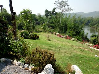 Private River Kwai side villa at Saiyok with 20 acres estate exclusively for you - Sai Yok vacation rentals