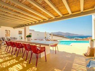 Villa in Mykonos : Ano Mera Area Villa Medeia - Ftelia vacation rentals