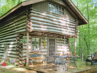 Rustic Hand Built Log Cabin on the Lake - Winchester vacation rentals