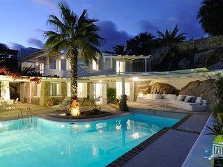 Villa in Mykonos : Psarrou Area Aegean Villas - Agafya - Psarou vacation rentals