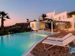 Villa in Mykonos : Psarrou Area Aegean Villas - Doris - Psarou vacation rentals