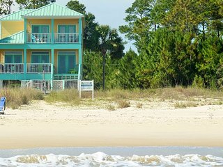 Cape San Blas Gulf Front -Hot Tub on Deck-Kayaks - Port Saint Joe vacation rentals