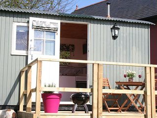 Gorgeous Shepherds hut with Satellite Or Cable TV and Parking - Cowbridge vacation rentals