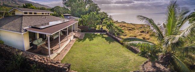 aerial view of this beachfront home - A Ala Hale - Kaunakakai - rentals
