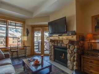 Modern, rustic ski-in/ski-out condo with a shared hot tub!! - Copper Mountain vacation rentals