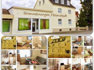 FeWo TW1 u. TW2 in Helmstedt  (2x 65qm, je 2 Duschbäder mit WC, je bis 6 Pers.) - Helmstedt vacation rentals