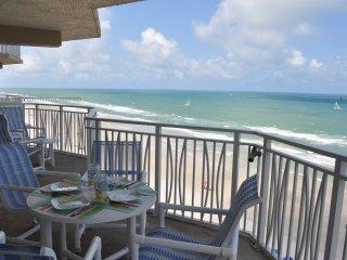 Beautifully Updated Direct Oceanfront 3-Bedroom/3-Bath Condo on No-Drive Beach! - Daytona Beach Shores vacation rentals
