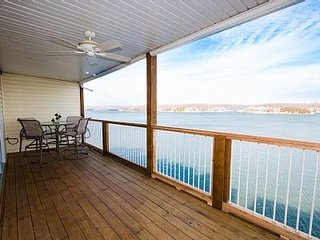 Free Nite*Amazing View!on the Main Channel* 3 Bed/2 BA*Sleeps 10*Afternoon Shade - Osage Beach vacation rentals