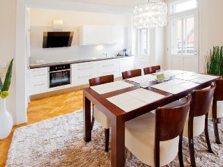 A Luxurious 2 Bedrom 2 Bathroom Apt With A/C + Balcony Behind National Theater - Prague vacation rentals