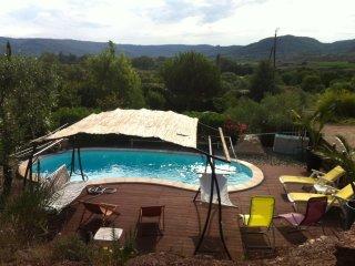 Bel Appt, Vue sur Piscine, Vallée du Salagou, Calme - Octon vacation rentals
